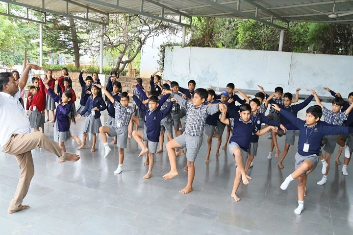P Obul Reddy Public School-Dance