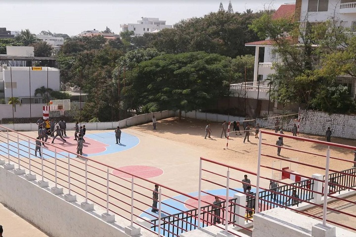 P Obul Reddy Public School-Ground