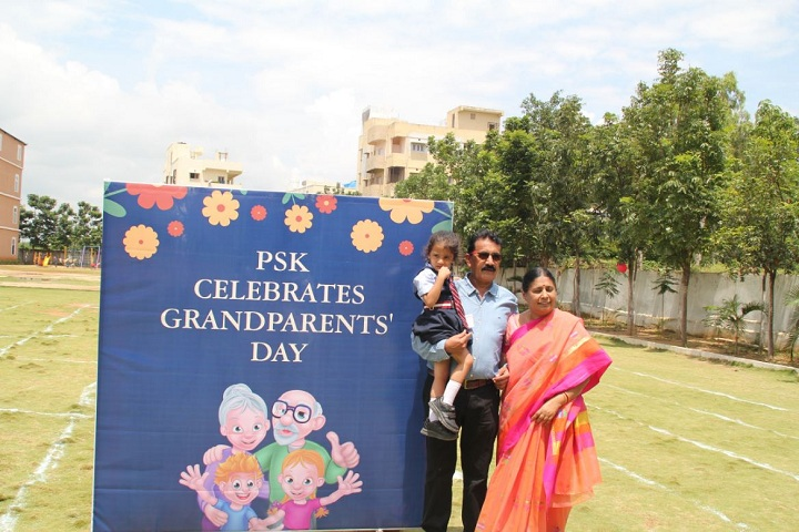 Pearson School-Grand Parents Day Celebrations