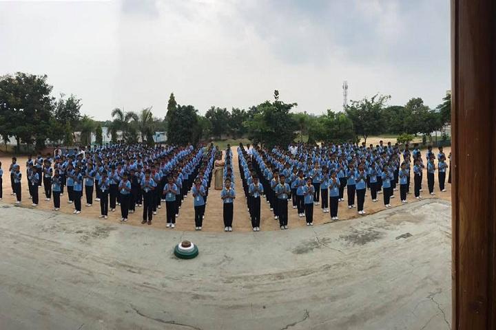 Pioneers International School-Assembly