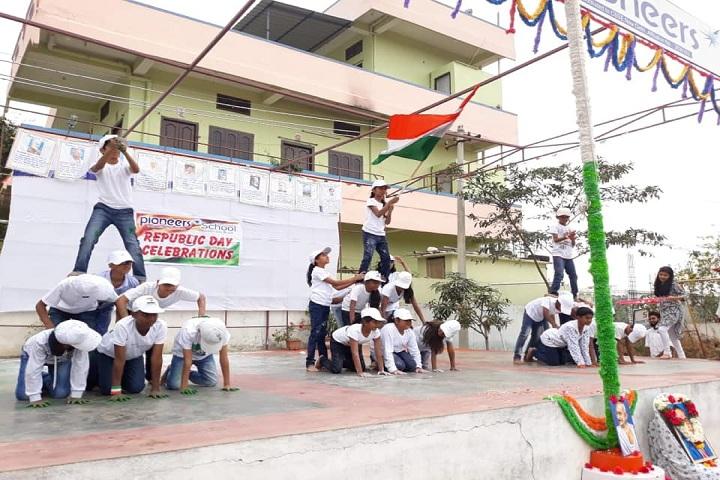 Pioneers International School-Republic Day Celebrations