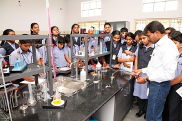Pragathi Central School-Chemical Lab