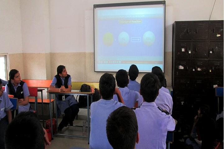 Pragathi Central School-Smart Class Room