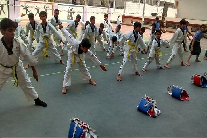 Pragathi Central School-Karate