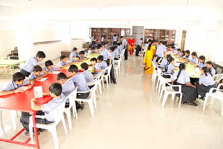 Pragathi Central School-Library