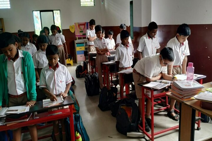 Radcliffe School-Classroom