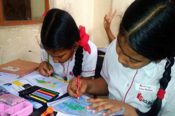 Radcliffe School-Drawing Activity