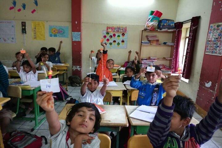 Radcliffe School-Rakhi Making Activity