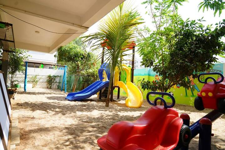 Rockwell International School-Kids Play Area