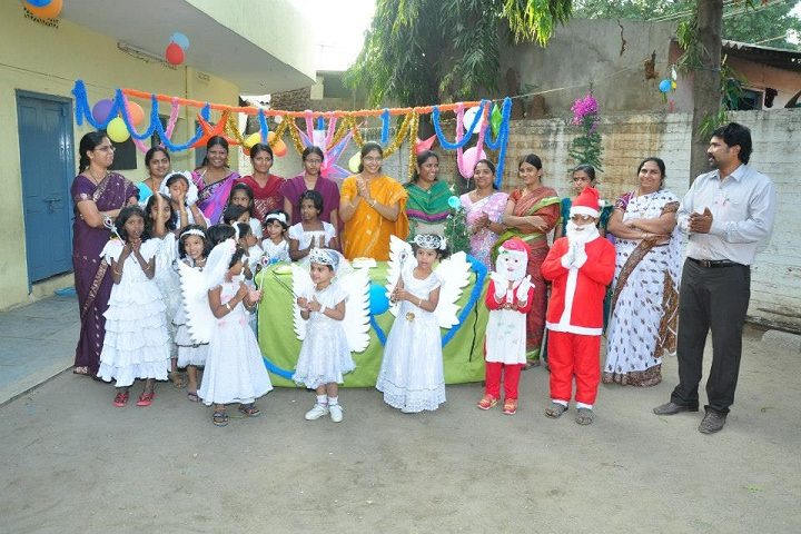 S V M Central Public School-Christmas Celebrations