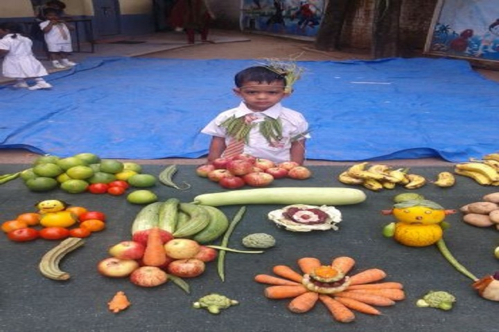 S V M Central Public School-Vegetable Activity
