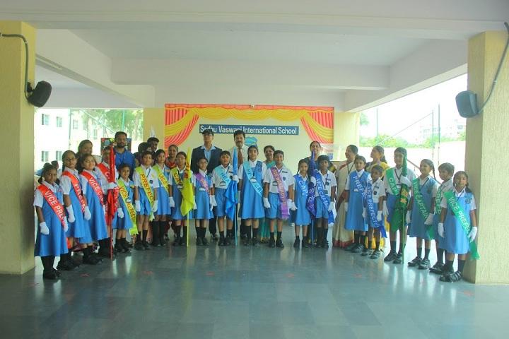 Sadhu Vaswani International School-Investiture Ceremony