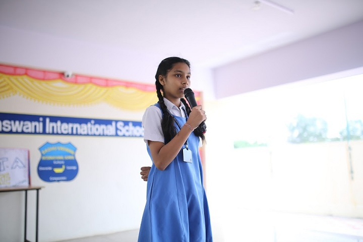 Sadhu Vaswani International School-Just A Minute Competition