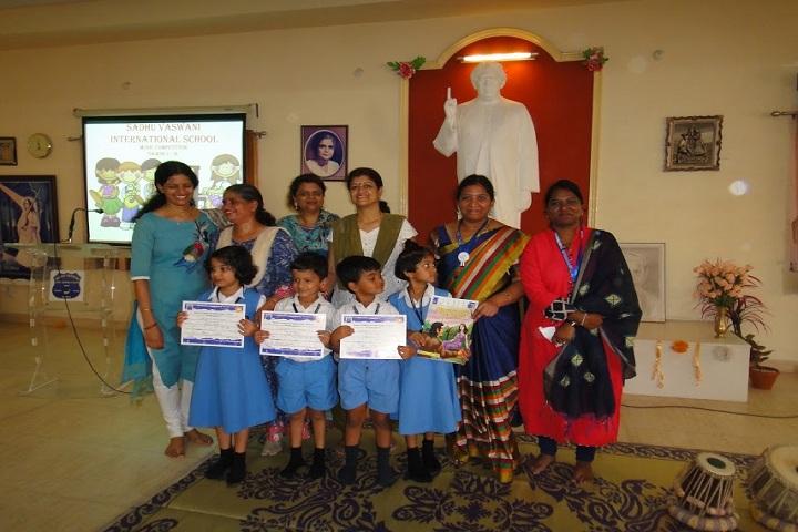 Sadhu Vaswani International School-Music Competition