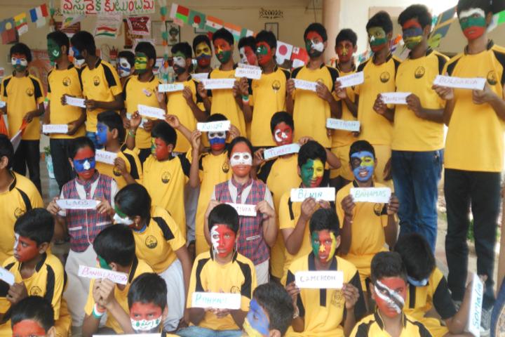 Sai Spurthi D A V School-Activity