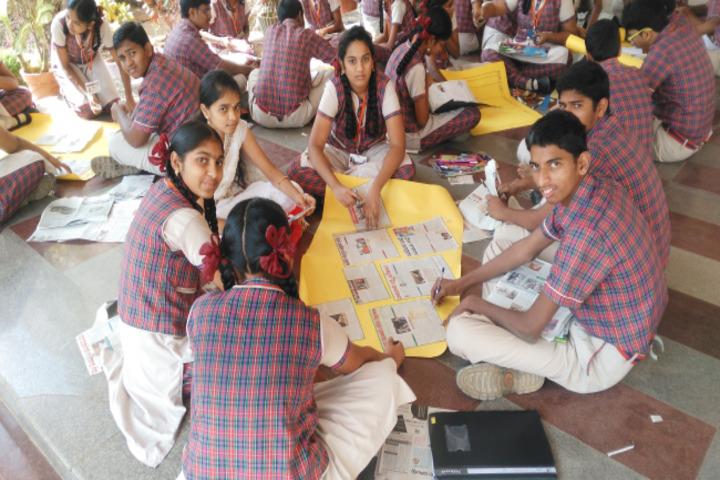 Sai Spurthi D A V School-Art and Craft