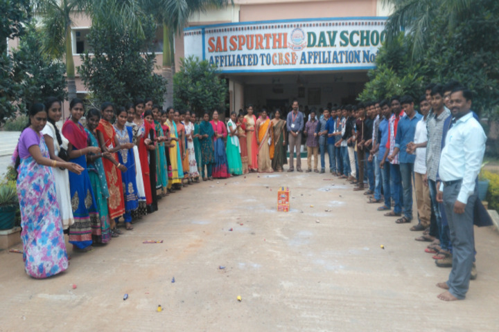 Sai Spurthi D A V School-Diwali Celebrations