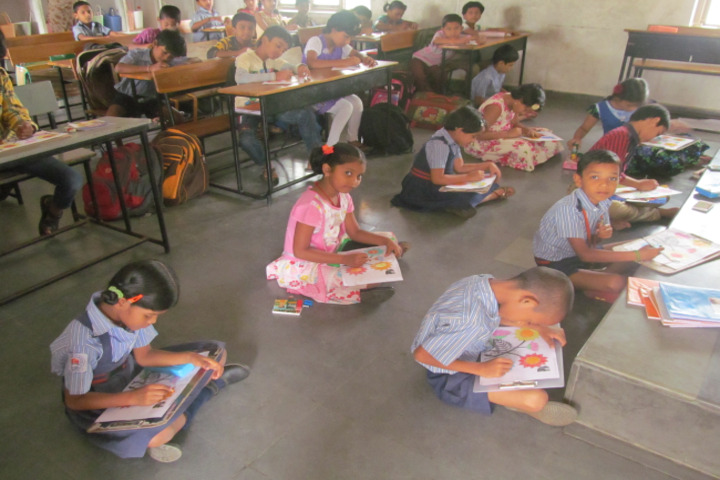 Sai Spurthi D A V School-Drawing Competition