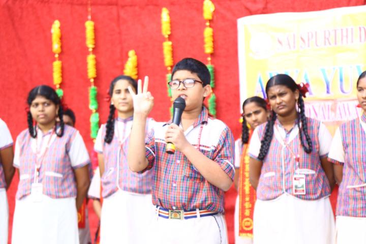 Sai Spurthi D A V School-Elocution