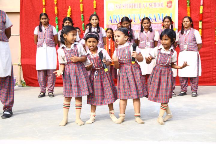 Sai Spurthi D A V School-Group Singing