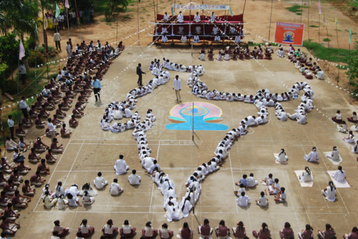 Sai Spurthi D A V School-Independence Day