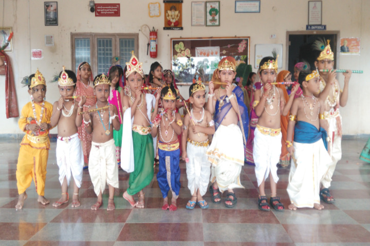 Sai Spurthi D A V School-Janamastami Celebrations