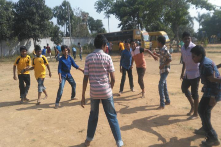 Sai Spurthi D A V School-Sports