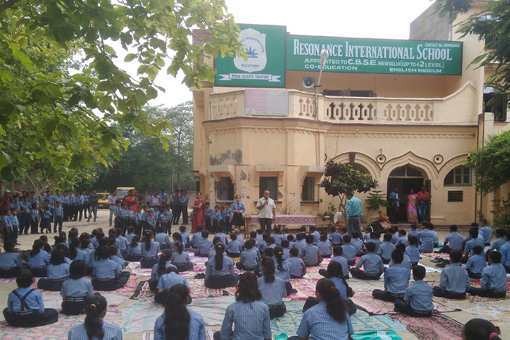 Resonance International School-Yoga Day