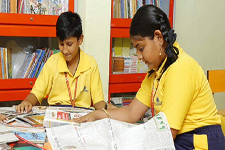 Sanskar Innovative School-Library