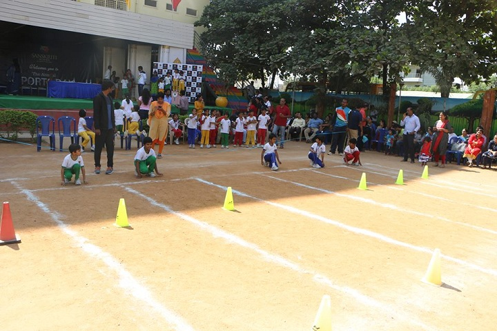 Sanskriti School-Sports Day