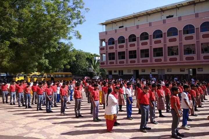 Saritha Vidya Niketan-Morning Assembly