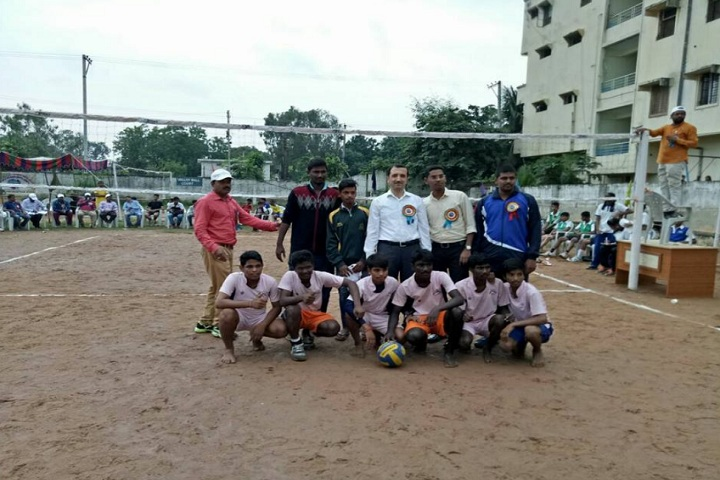 Saritha Vidya Niketan-sports volley ball