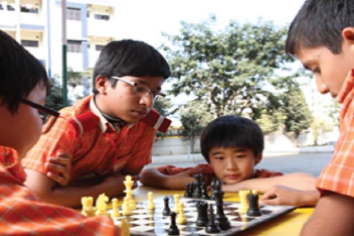 Scholars International School-Indoor Game chess