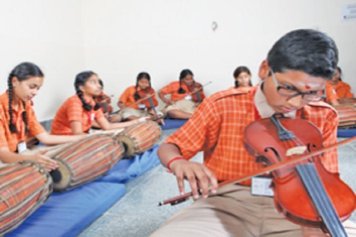 Scholars International School-Music Room