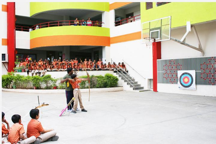 Scholars International School-Archery Training