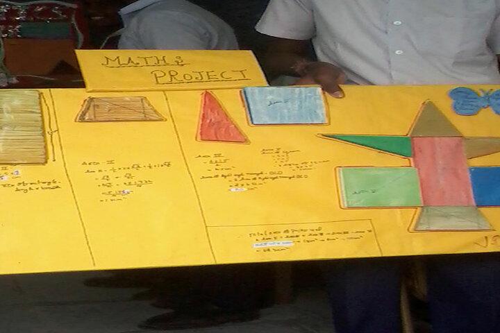 Shivaji Vidya Peeth High School-Maths Project
