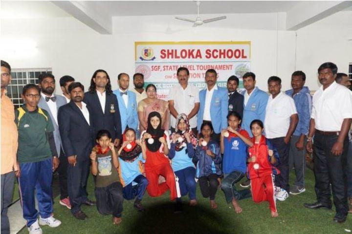 Shloka School-Sports Achievers