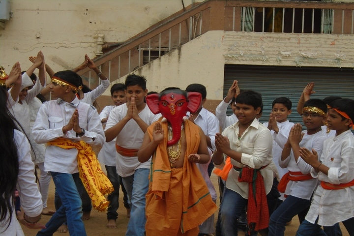 Shri Hanuman Vyayam Shala Public School-Ganesh Celebrations