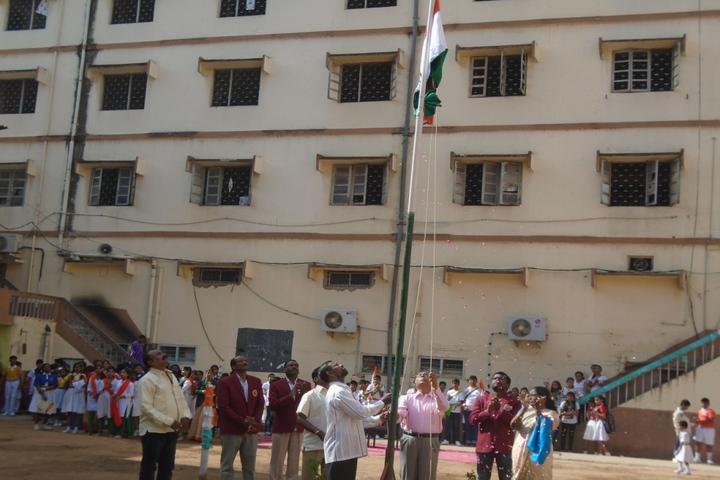 Shri Hanuman Vyayam Shala Public School-Independence Day Celebrations