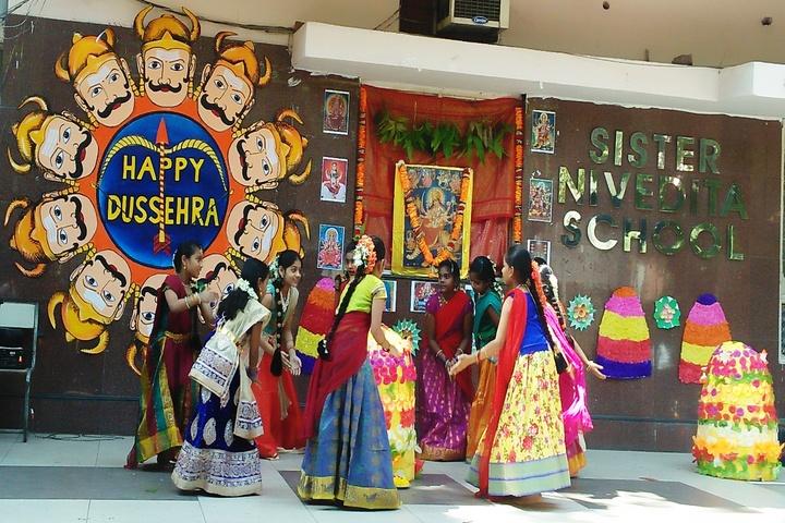 Sister Nivedita School-Dussehra Celebrations