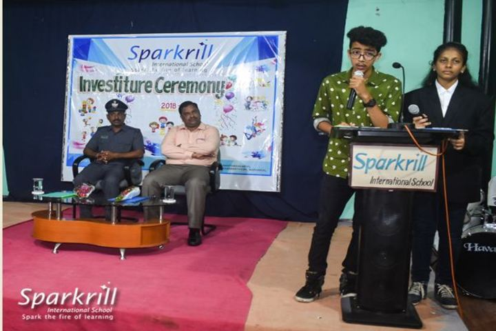 Sparkrill International School-Investiture Ceremony