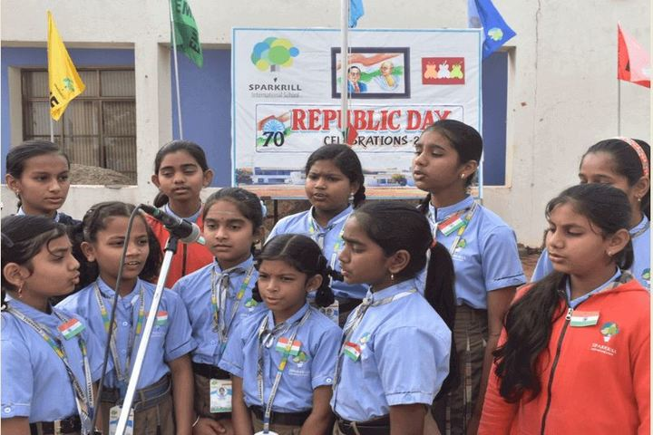 Sparkrill International School-Republic Day Celebrations
