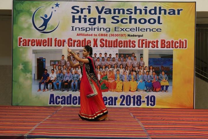 Sri Vamshidhar High School-Farewell Celebrations
