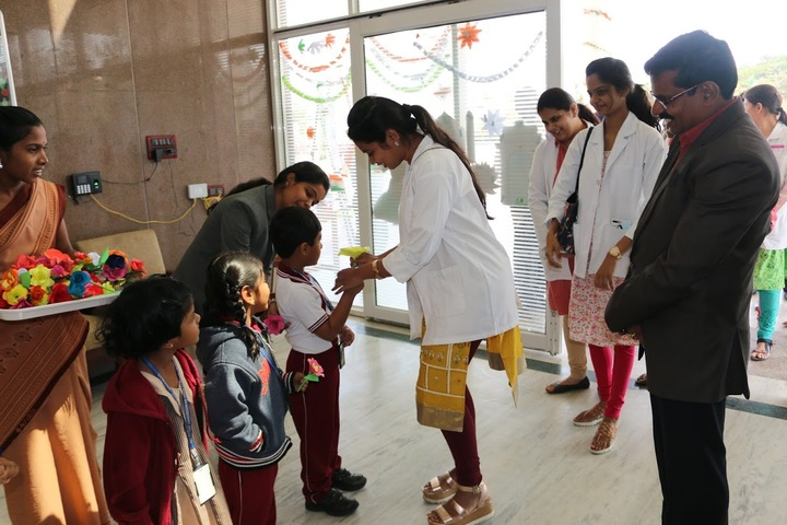 Sri Vamshidhar High School-Medical Camp