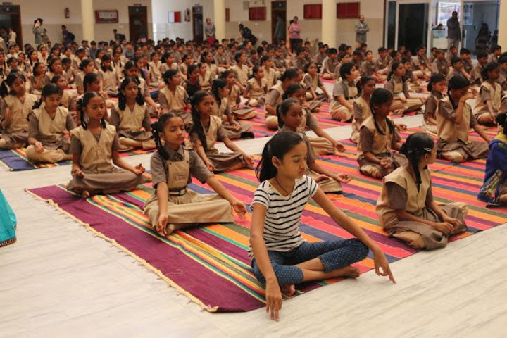 Sri Vamshidhar High School-Yoga