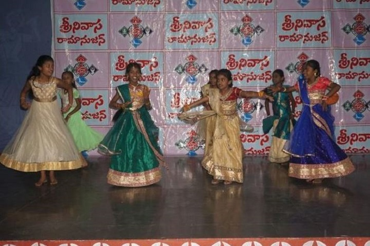 Srinivasa Ramanujan High School-Freshers Day Celebartions