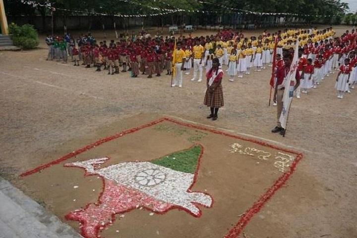 Srinivasa Ramanujan High School-Independence Day