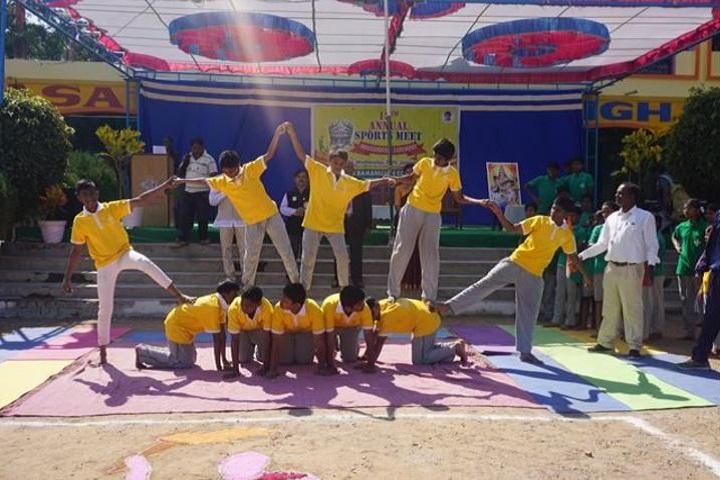 Srinivasa Ramanujan High School-Sports Day