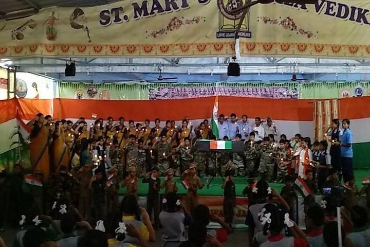 St Marys Vidyaniketan High School-Independence Day Celebrations