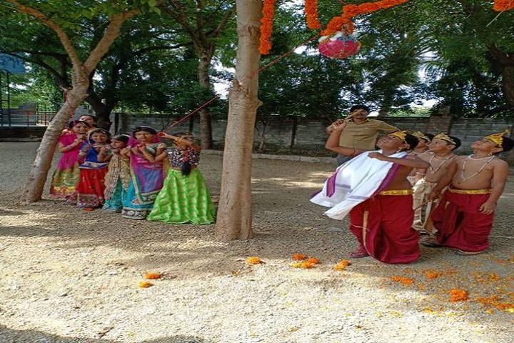 St Marys Vidyaniketan High School-Krishnastami Celebrations